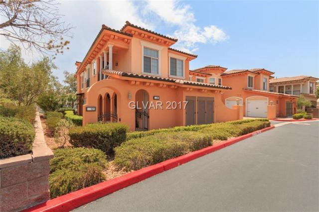 22 Via Vasari #101, Henderson, NV 89011 (MLS #1913074) :: Signature Real Estate Group
