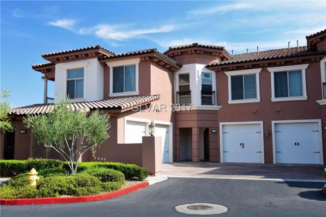 26 Via Vasari #102, Henderson, NV 89011 (MLS #1913784) :: Signature Real Estate Group