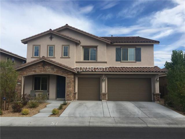1160 Via Della Costrella, Henderson, NV 89011 (MLS #1915923) :: Signature Real Estate Group