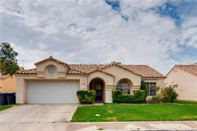 922 Chaps, Henderson, NV 89002 (MLS #1916239) :: Signature Real Estate Group