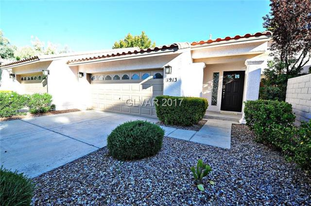 1913 Hobson, Henderson, NV 89074 (MLS #1925319) :: The Snyder Group at Keller Williams Realty Las Vegas