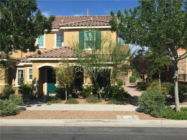 1916 Via Firenze, Henderson, NV 89044 (MLS #1925456) :: The Snyder Group at Keller Williams Realty Las Vegas