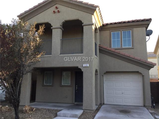 539 Shewsbury, Las Vegas, NV 89178 (MLS #1933465) :: Realty ONE Group