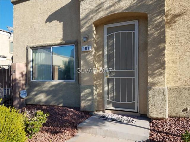 6313 Rolling Rose #101, North Las Vegas, NV 89081 (MLS #1934096) :: The Machat Group   Five Doors Real Estate