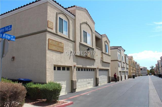 6328 Sandy Ridge #101, North Las Vegas, NV 89081 (MLS #1934106) :: Signature Real Estate Group