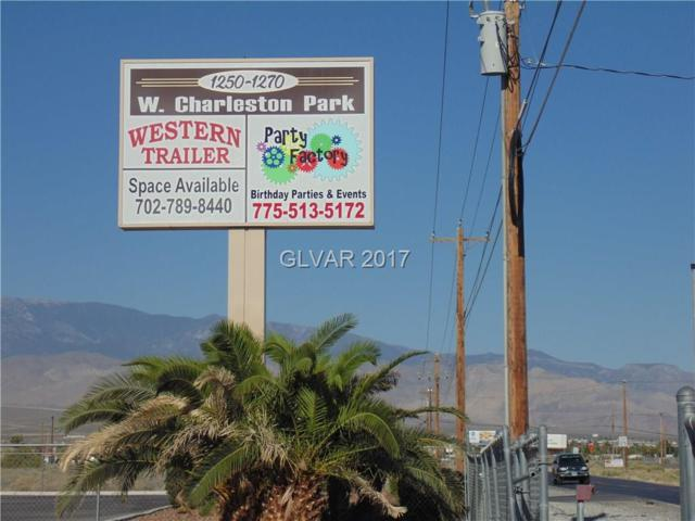 1270 W Charleston Park, Pahrump, NV 89048 (MLS #1934744) :: Trish Nash Team