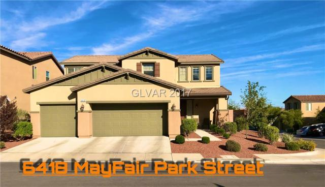 6418 Mayfair Park, Las Vegas, NV 89166 (MLS #1935951) :: Signature Real Estate Group