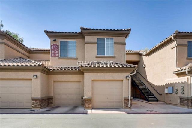 4725 Basilicata #202, North Las Vegas, NV 89084 (MLS #1939961) :: Signature Real Estate Group