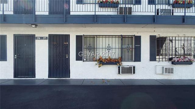 4600 Swenson #195, Las Vegas, NV 89119 (MLS #1940817) :: Sennes Squier Realty Group