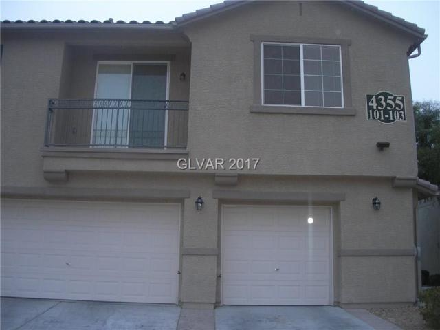 4355 Braeburn Glen #103, North Las Vegas, NV 89032 (MLS #1944224) :: Trish Nash Team