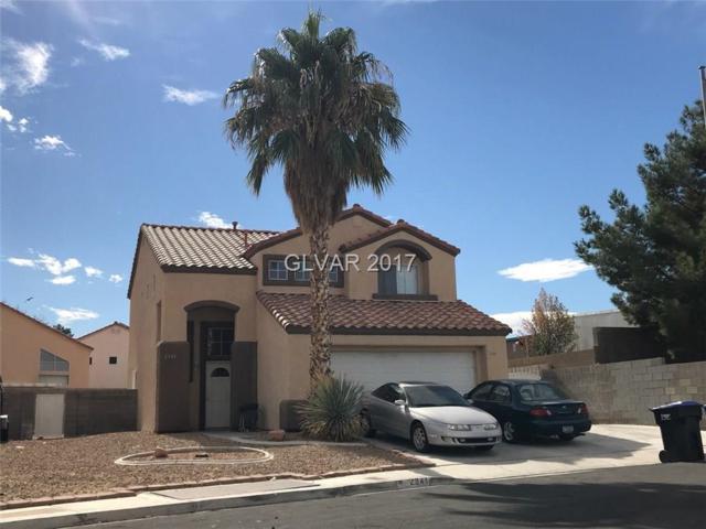 2341 Whitney Peak, North Las Vegas, NV 89031 (MLS #1945409) :: The Snyder Group at Keller Williams Realty Las Vegas