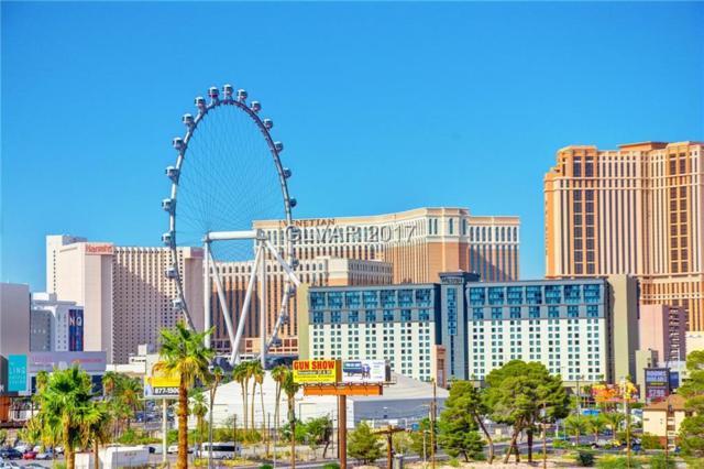 205 E Harmon #512, Las Vegas, NV 89169 (MLS #1947639) :: The Snyder Group at Keller Williams Realty Las Vegas