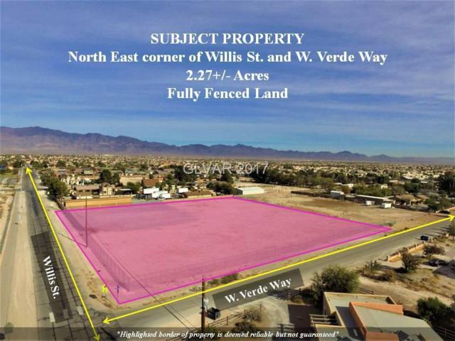 0 Willis, North Las Vegas, NV 89031 (MLS #1948424) :: Realty ONE Group