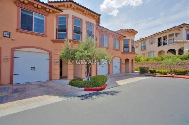30 Via Vasari #104, Henderson, NV 89011 (MLS #1949697) :: Signature Real Estate Group