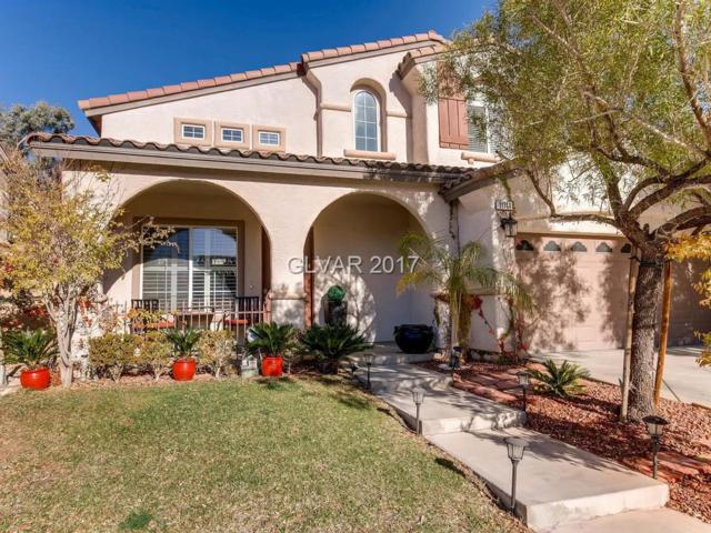11764 Via Vera Cruz, Las Vegas, NV 89138 (MLS #1952045) :: The Snyder Group at Keller Williams Realty Las Vegas