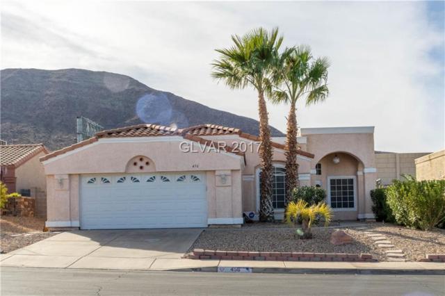 456 Wright, Henderson, NV 89015 (MLS #1952635) :: The Snyder Group at Keller Williams Realty Las Vegas
