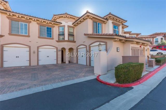 24 Via Vasari #104, Las Vegas, NV 89011 (MLS #1953360) :: Signature Real Estate Group