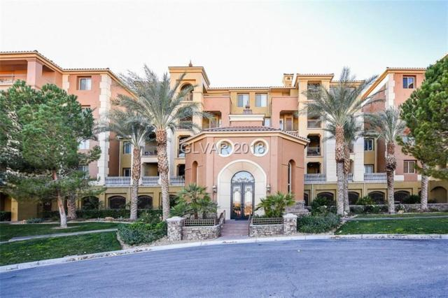 20 Via Mantova #205, Henderson, NV 89011 (MLS #1956362) :: Signature Real Estate Group