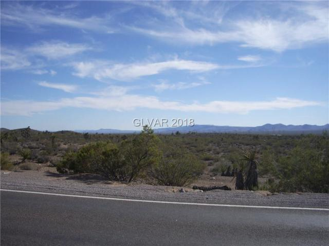 Highway 164 (Nipton Road), Searchlight, NV 89046 (MLS #1957936) :: The Lindstrom Group