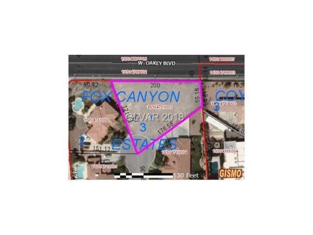 1860 Fox Canyon, Las Vegas, NV 89117 (MLS #1957971) :: Trish Nash Team