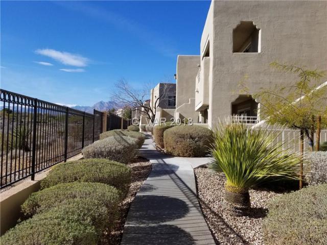 1900 Mountain Hills #106, Las Vegas, NV 89128 (MLS #1958295) :: Trish Nash Team