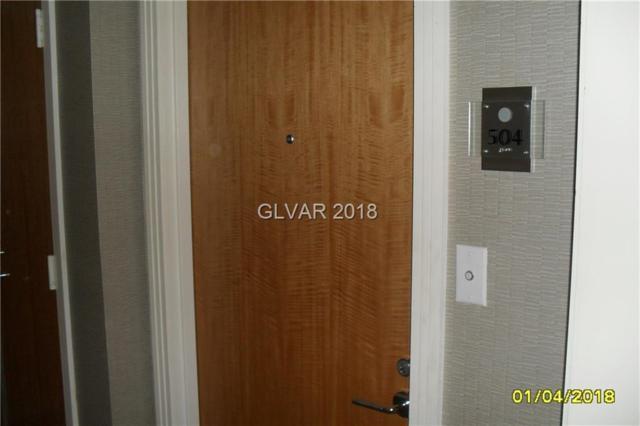 322 Karen #504, Las Vegas, NV 89109 (MLS #1958639) :: Trish Nash Team