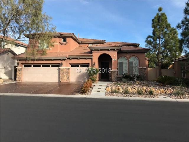 382 Rancho La Costa, Las Vegas, NV 89138 (MLS #1959926) :: Realty ONE Group