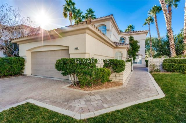 403 Indigo Springs, Henderson, NV 89014 (MLS #1961197) :: Signature Real Estate Group