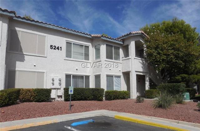 5241 Caspian Springs #104, Las Vegas, NV 89120 (MLS #1961977) :: Signature Real Estate Group