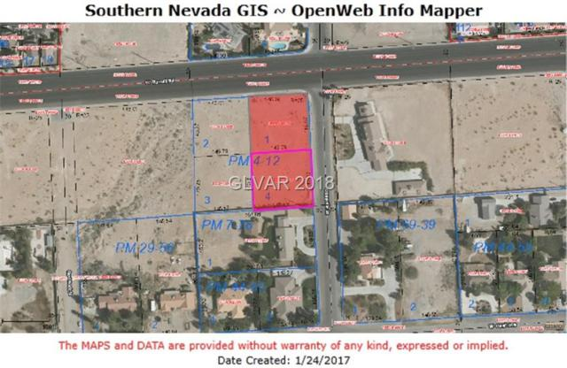 Russell Rd Frontage/Ofcpro, Las Vegas, NV 89118 (MLS #1962110) :: Trish Nash Team