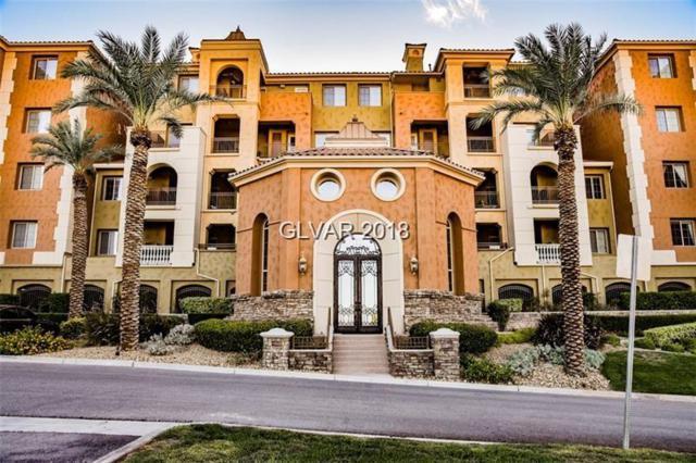 15 Via Mantova #202, Henderson, NV 89011 (MLS #1963289) :: Catherine Hyde at Simply Vegas