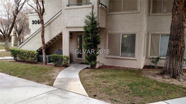 3060 Tarpon #101, Las Vegas, NV 89120 (MLS #1963381) :: Signature Real Estate Group