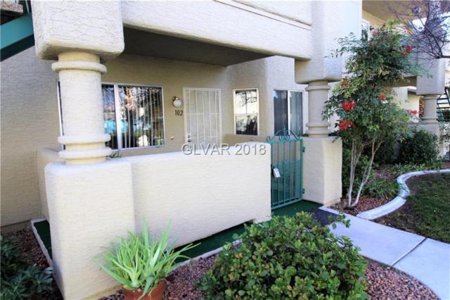 7600 Cromberg #102, Las Vegas, NV 89145 (MLS #1963533) :: Signature Real Estate Group