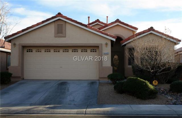 4449 Meadowlark Wing, North Las Vegas, NV 89084 (MLS #1963861) :: Realty ONE Group