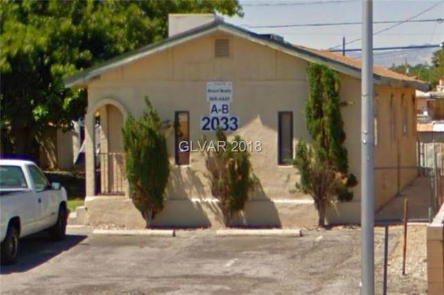 2033 Belmont, North Las Vegas, NV 89030 (MLS #1965355) :: Trish Nash Team