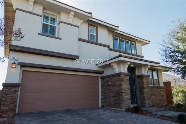 10325 Turia Gardens, Las Vegas, NV 89135 (MLS #1965622) :: Signature Real Estate Group