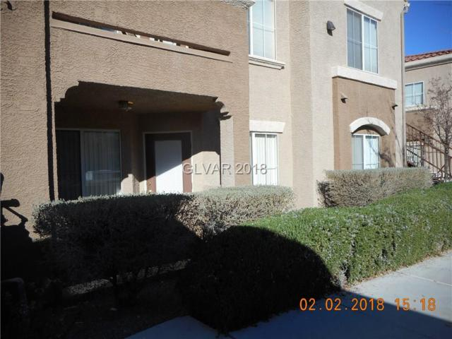 10245 Maryland #133, Las Vegas, NV 89123 (MLS #1965728) :: Signature Real Estate Group