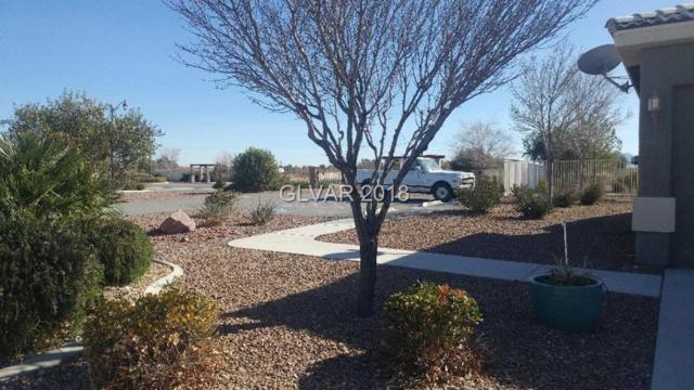 2885 E Avalon, Pahrump, NV 89048 (MLS #1965898) :: The Snyder Group at Keller Williams Marketplace One