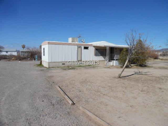 420 N Chapparel, Pahrump, NV 89060 (MLS #1966161) :: Trish Nash Team