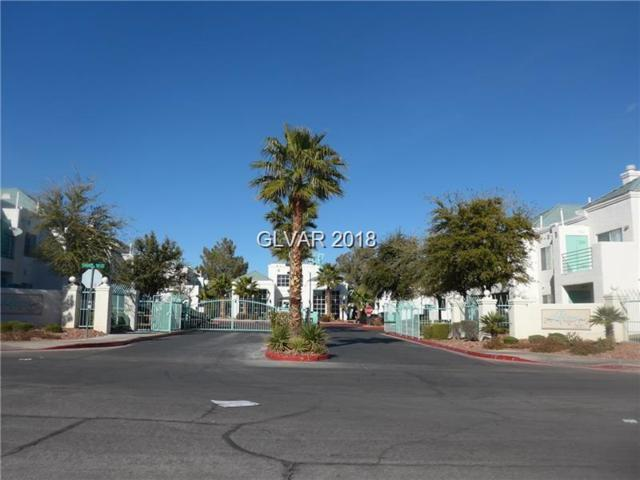 7100 Pirates Cove #1107, Las Vegas, NV 89145 (MLS #1966169) :: Signature Real Estate Group