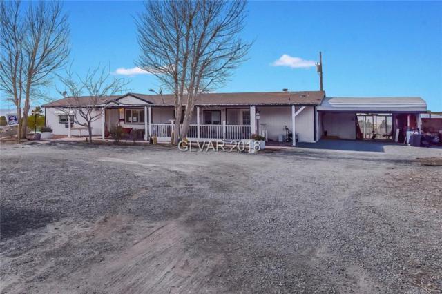 1201 E Blosser Ranch, Pahrump, NV 89060 (MLS #1966518) :: Trish Nash Team