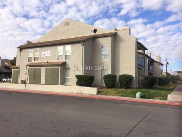 2961 Country Manor #130, Las Vegas, NV 89115 (MLS #1966629) :: Catherine Hyde at Simply Vegas