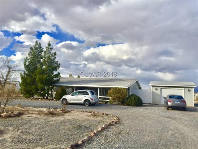 820 W Basin, Pahrump, NV 89060 (MLS #1967323) :: Trish Nash Team