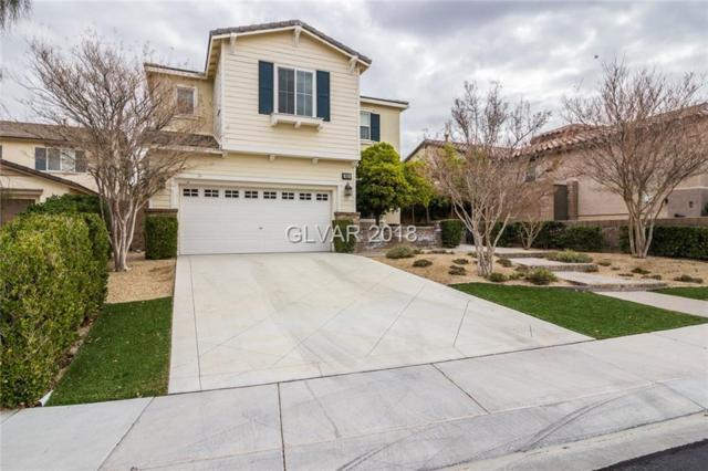 856 White Sparrow, Henderson, NV 89052 (MLS #1967528) :: Signature Real Estate Group