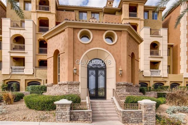 15 Via Mantova #405, Henderson, NV 89011 (MLS #1967551) :: The Snyder Group at Keller Williams Realty Las Vegas