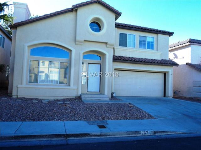 267 Calliope, Henderson, NV 89074 (MLS #1968397) :: Realty ONE Group