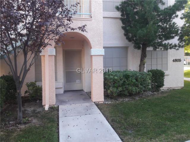4805 S Torrey Pines #101, Las Vegas, NV 89103 (MLS #1968794) :: Trish Nash Team