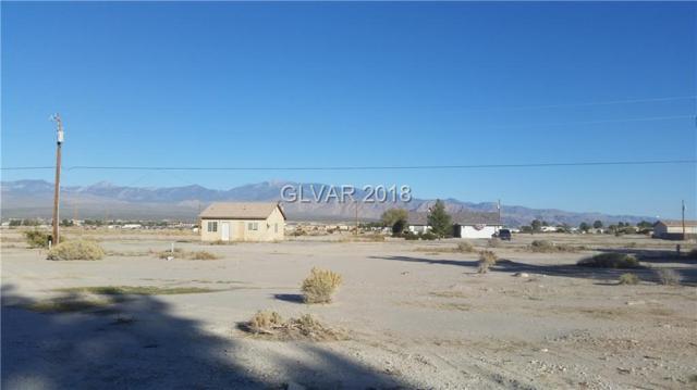 1191 S Blagg, Pahrump, NV 89048 (MLS #1968876) :: Catherine Hyde at Simply Vegas