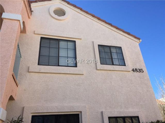 4835 Torrey Pines #101, Las Vegas, NV 89103 (MLS #1968917) :: Sennes Squier Realty Group