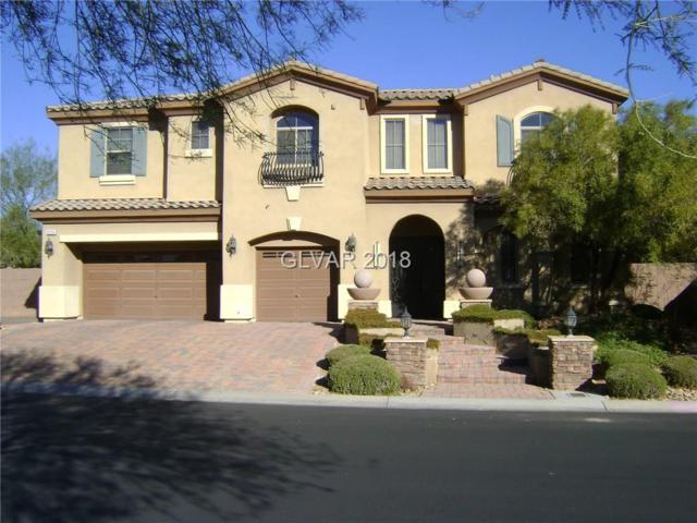 8334 Bella Famiglia, Las Vegas, NV 89178 (MLS #1969487) :: Realty ONE Group